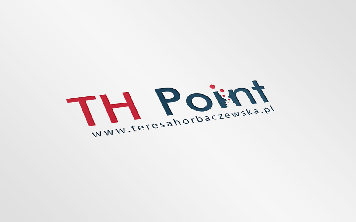 Projekt logotypu - TH Point
