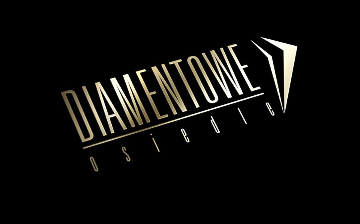 Projekt logotypu - Diamentowe Osiedle