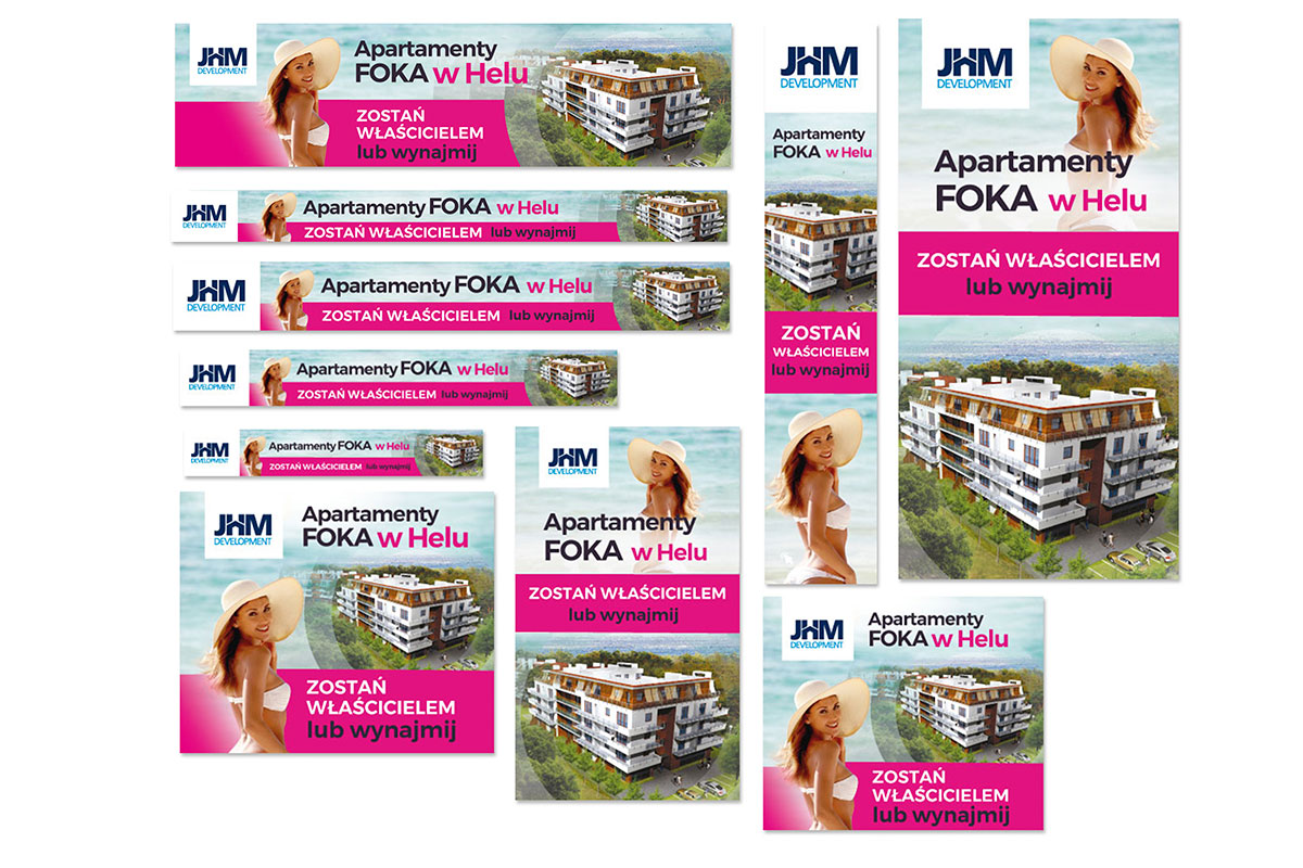 Adwordsy Apartamenty Foka w Helu