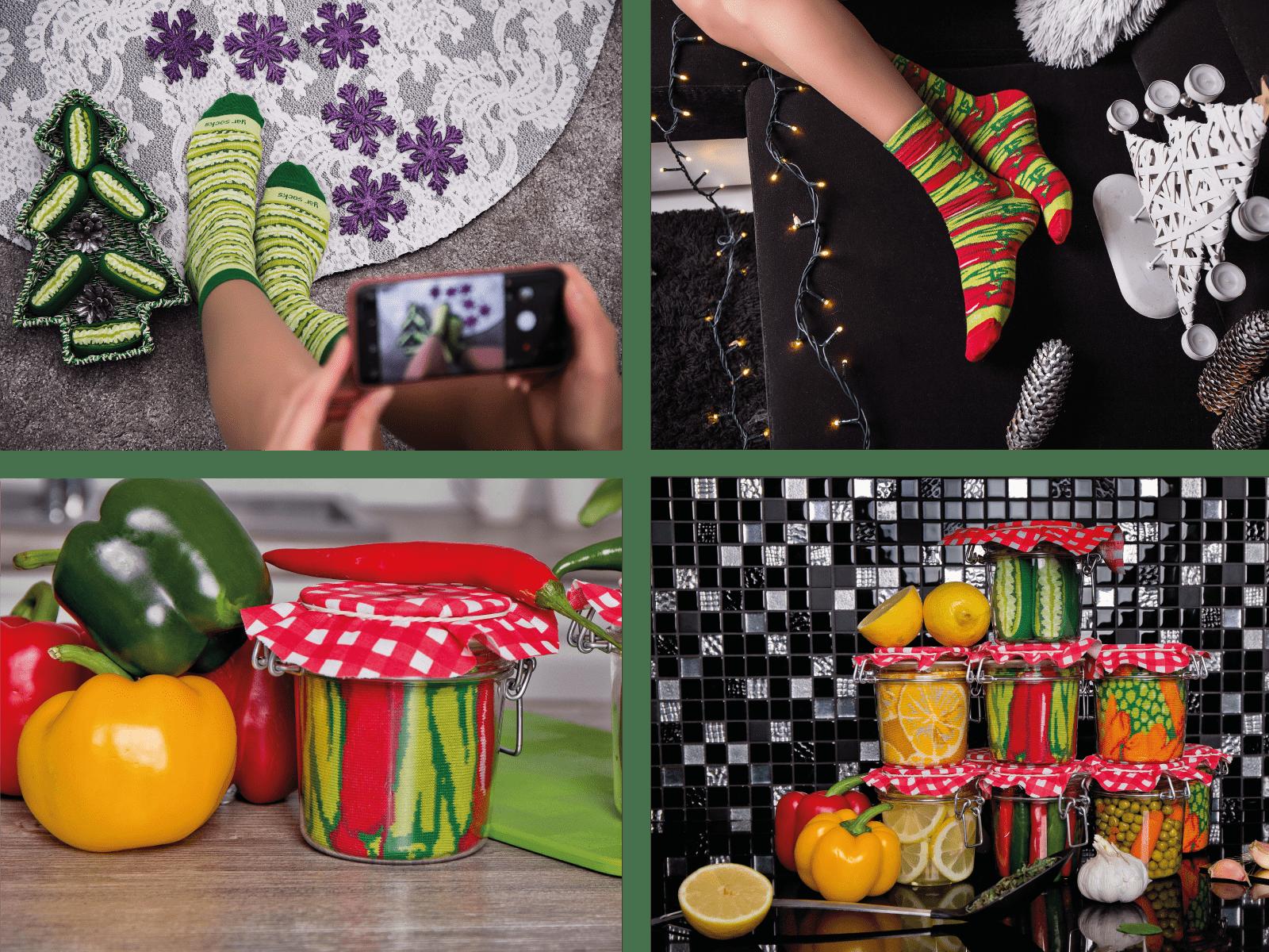 kreatywne gadzety jar socks